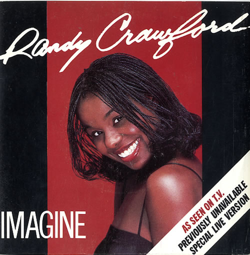 Randy Crawford Imagine 1982 UK 7 vinyl K17906
