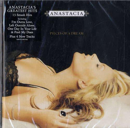 Anastacia Pieces Of A Dream  Sealed  Promo Stickered 2005 UK CD album 82876731962