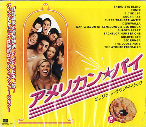Original Soundtrack American Pie  Sealed 2000 Japanese CD album MVCU24074