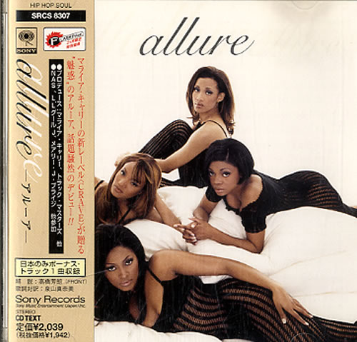Allure Allure 1997 Japanese CD album SRCS8307