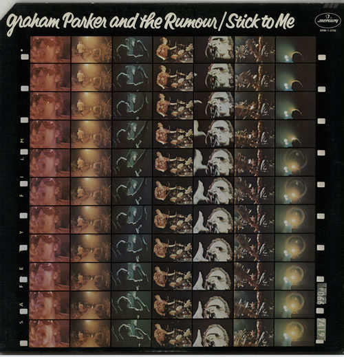 Graham Parker Stick To Me 1977 USA vinyl LP SRM13706
