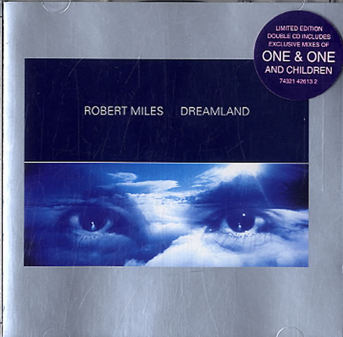 Robert Miles Dreamland  Bonus Disc 1996 UK 2CD album set 74321426132