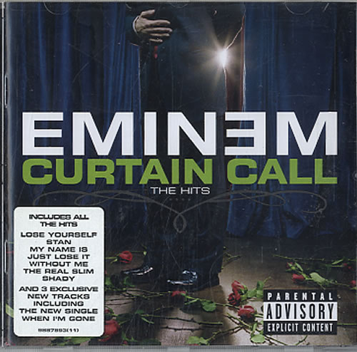 Eminem - Curtain Call - The Hits Record