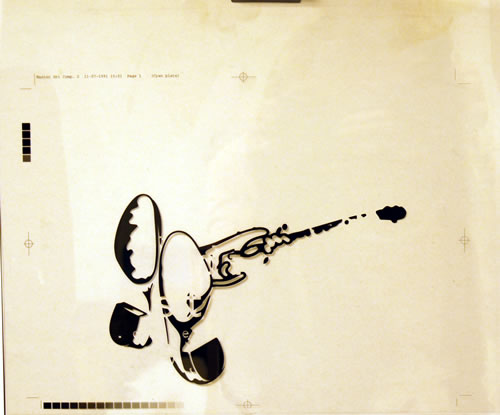 Dire Straits On Every Street  3sheet Film Artwork 1991 UK artwork 14 X 12 ARTWORK