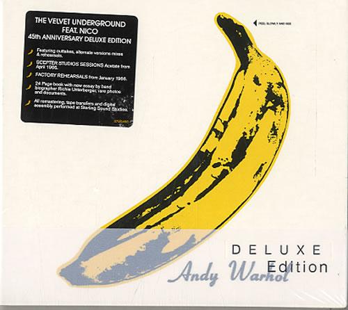Velvet Underground The Velvet Underground & Nico  Deluxe Edition 2012 UK 2CD album set 0602537054688