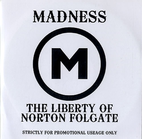 Madness The Liberty Of Norton Folgate 2009 UK CDR acetate CDR