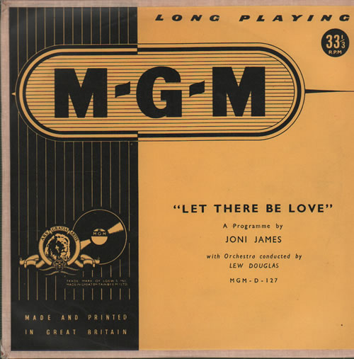 James, Joni - Let There Be Love Album