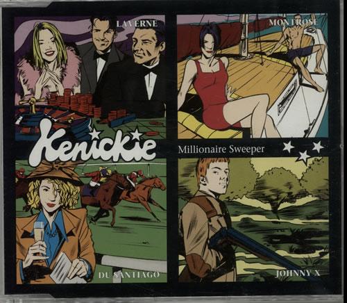 Kenickie Quantity Of SEVEN CD Singles UK CD single 7 CD SINGLES