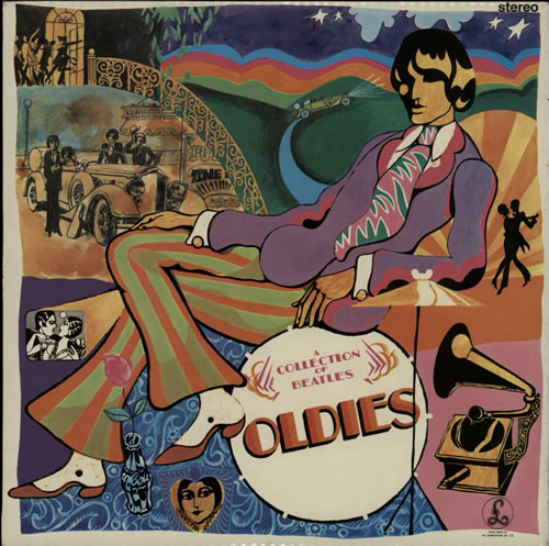 The Beatles A Collection Of Beatles Oldies  2nd 1970 UK vinyl LP PCS7016