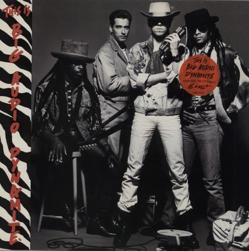 Big Audio Dynamite This Is Big Audio Dynamite  EX 1985 UK vinyl LP CBS26714