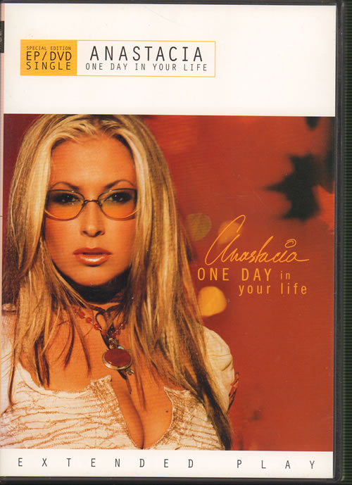 Anastacia One Day in Your Life 2002 USA DVD Single 34D79731