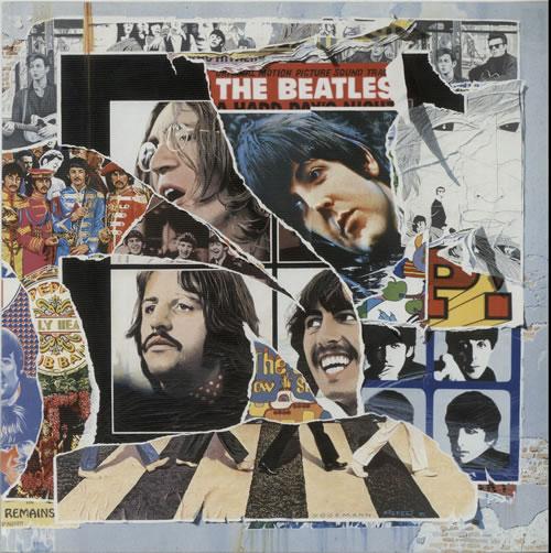 The Beatles Anthology 3  Display Flat 1996 USA display PROMO DISPLAY