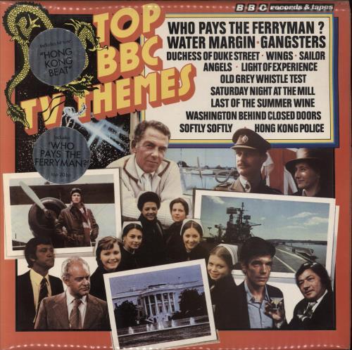 VariousFilm Radio Theatre & TV Top BBC TV Themes 1978 UK vinyl LP REH310