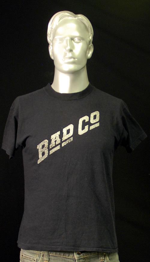 Image of Bad Company Bad Co Large UK t shirt T SHIRT