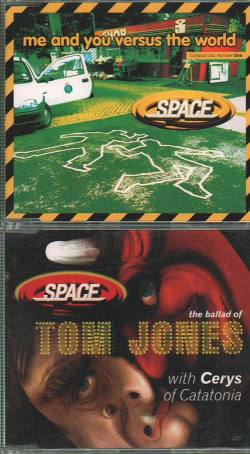 Space (90s) Quantity of Eight CD Singles UK CD single 8 CD SINGLES