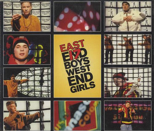 East 17 West End Girls 1993 UK CD single LONCD344