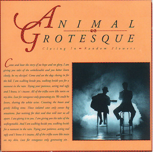 Animal Grotesque Closing In 1990 Swedish 7 vinyl BRASL3