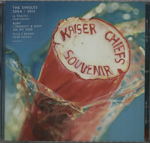 Kaiser Chiefs Souvenir The Singles 20042012 2012 UK CD album BUN167CD