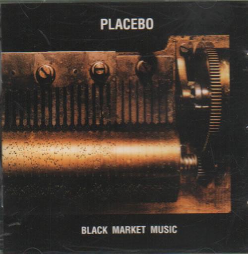 Image of Placebo Black Market Music 2000 UK CD album CDFLOOR13