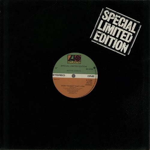 """Image of Bettye LaVette Doin' The Best That I Can 1978 UK 12"""" vinyl K11198"""