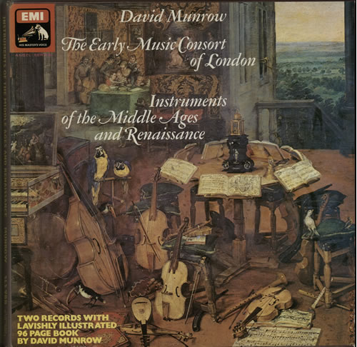 The Early Music Consort Of London Instruments Of The Middle Ages And Renaissance 1976 UK vinyl box set SLS988