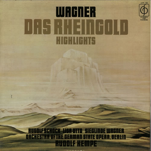 Wagner, Richard - Das Rheingold Highlights