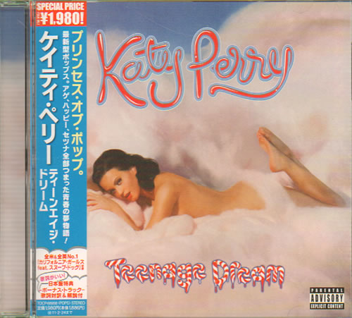 Katy Perry Teenage Dream 2010 Japanese CD album TOCP66958