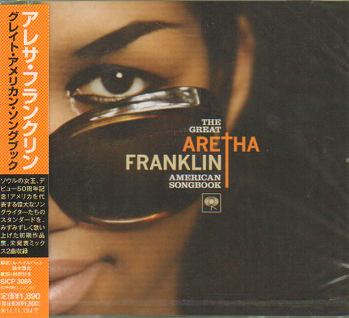 Aretha Franklin The Great American Songbook - Sealed 2011 Japanese CD album SICP3086 lowest price