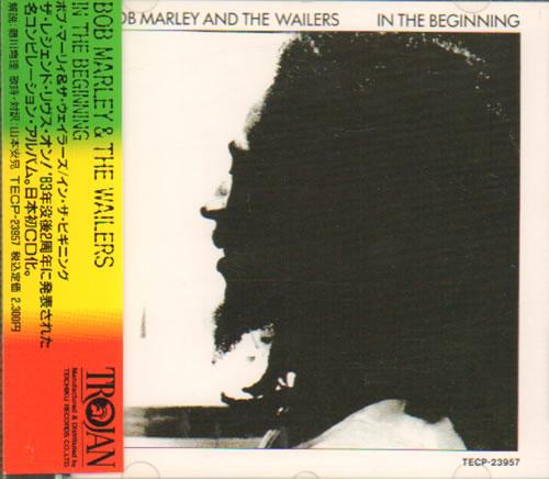 Bob Marley In The Beginning 1991 Japanese CD album TECP23957