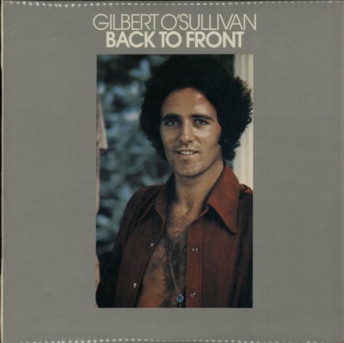 Gilbert OSullivan Back To Front 1972 New Zealand vinyl LP MAMSS503