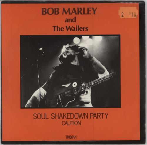 Bob Marley Soul Shakedown Party 1983 UK 7 vinyl TRO9074