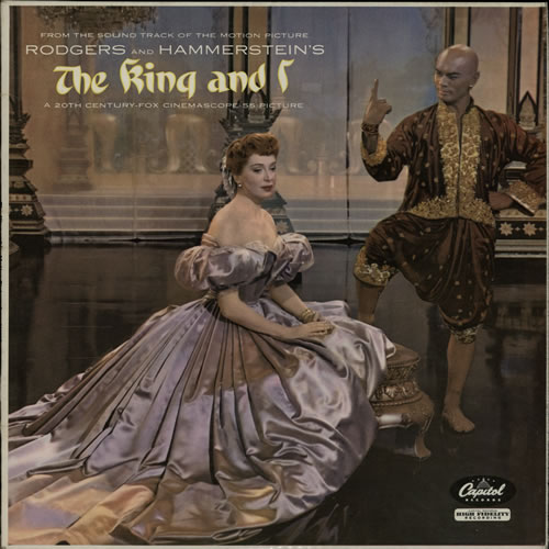 Image of Original Soundtrack The King And I - Lime Green UK vinyl LP SLCT6108