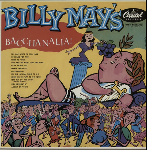 Billy May Bacchanalia! UK vinyl LP ED2604201