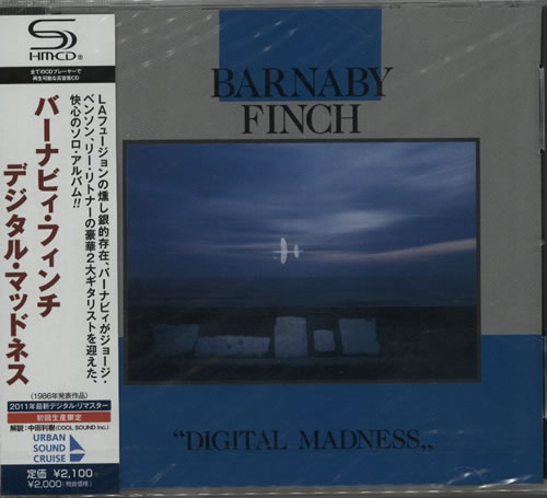 Barnaby Finch Digital Madness  Sealed 2011 Japanese SHM CD WQCQ253