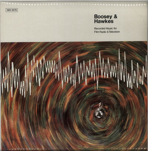 Boosey & Hawkes Recorded Music For Film Radio & Television 1979 UK vinyl LP SBH3075