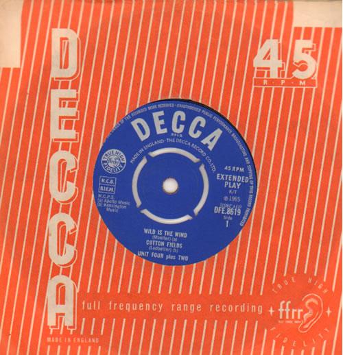 Unit Four Plus Two Unit 4 Plus 2 EP 1965 UK 7 vinyl DFE8619