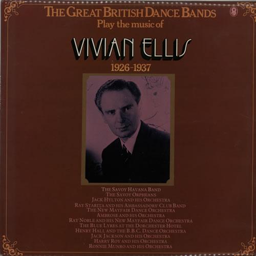 Vivian Ellis The Great British Dance Bands Play The Music Of Vivian Ellis 1977 UK vinyl LP SH260