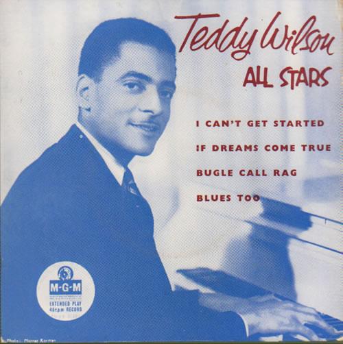Teddy Wilson Teddy Wilson All Stars EP 1958 UK 7 vinyl MGMEP648
