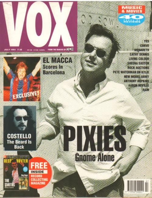 Pixies - Vox - Issue 10 - July 1991