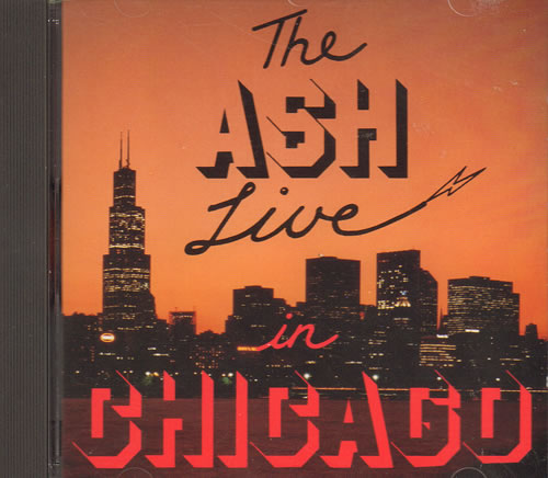 Wishbone Ash The Ash Live In Chicago 1992 UK CD album PERMCD6