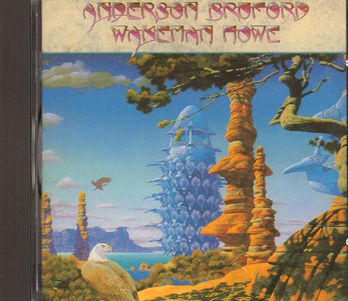 Anderson Bruford Wakeman Howe Anderson Bruford Wakeman Howe 1989 German CD album 259970