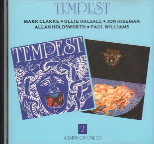 Tempest Tempest + Living In Fear 1990 UK CD album NEXCD159