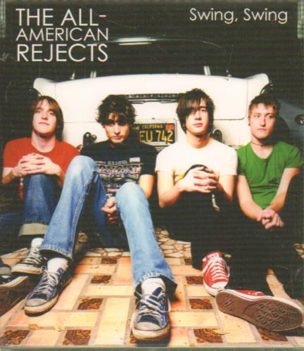 Image of The All-American Rejects Swing, Swing 2002 Japanese CD single SIC-1110