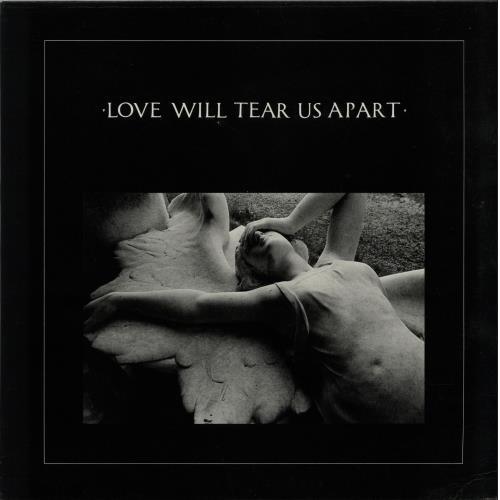 Joy Division Love Will Tear Us Apart  EX UK 12 vinyl FAC2312