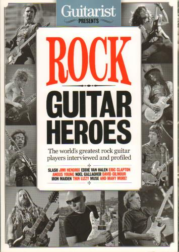 Jimi Hendrix Guitarist Presents Rock Guitar Heroes 2011 UK book 1858704901