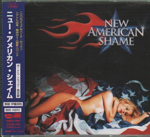 New American Shame New American Shame 1999 Japanese CD album AMCY7097