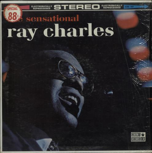 Ray Charles The Sensational Ray Charles 1965 USA vinyl LP CXS187