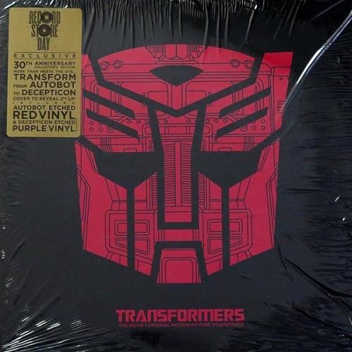 Transformers The Movie Original Motion Picture Soundtrack  RSD 2015 UK 2LP vinyl set 8887514432