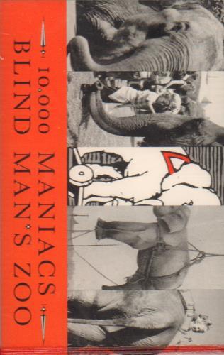 Image of 10,000 Maniacs Blind Man's Zoo 1989 German cassette album EKT57C