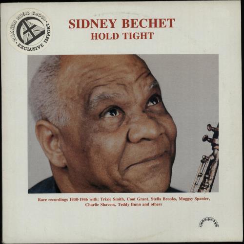 Sidney Bechet Hold Tight 1984 Italian vinyl LP JJ603